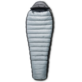 Yeti Fusion 1300+ Sleeping Bag L silver grey, black/black